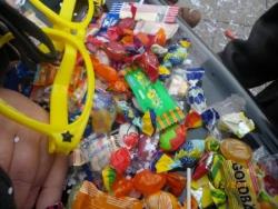 inondation de bonbons