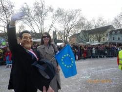 la France est représentée sur le carnaval allemand