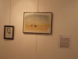 Exposition de toiles à la maison du 21ème siècle