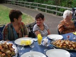 Mimie et sa famille