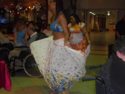 Sylvina qui danse