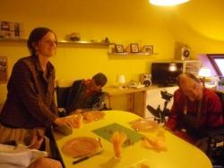 Sandrine, steve et Olivier