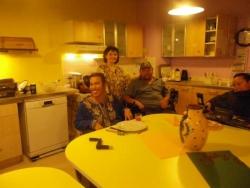 Patricia, Lobna et notre auguste