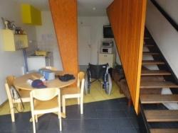 Notre logement à Trélon (en bas)