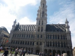 La mairie de Bruxelles ... une fois :)