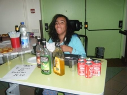 Notre barmaid