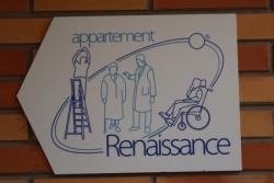 Résidence Espace. Visite Renaissance