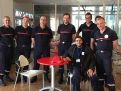 Les Pompiers de la caserne de Villeneuve d'Ascq