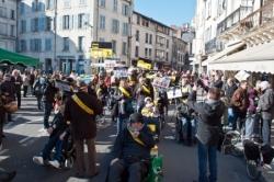 DD24 - 11 Février 2015 - Manifestation à Périgueux