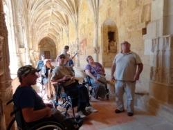 DD24 - 2015 - Visite de l'Abbaye de Cadouin