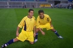 Bebto et Jorginho