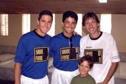 Bebeto Jorginho et Leonardo