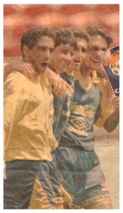 Zinho Bebeto Jorginho et Leonardo