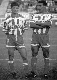 Bebeto et Mauro Silva