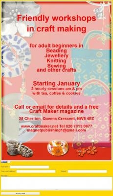 Craft Maker Workshops