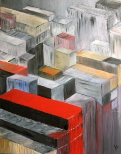 Containers, huile- Lydie