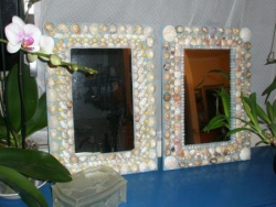 miroirs coquillages