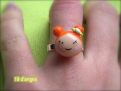 Bague Dolly la rouquine
