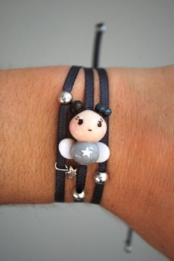Bracelet ruban Ange Dolly