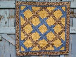 gagné à une quilting bee