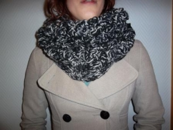 "Snood ""Noppes"" chiné"