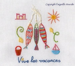Broderie traditionnelle - Christel Elbaz