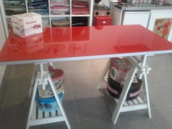 table de coupe couture