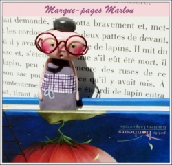 Marque-pages Marlou