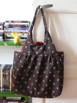 sac pois marron