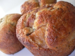 muffin pomme miel-cannelle