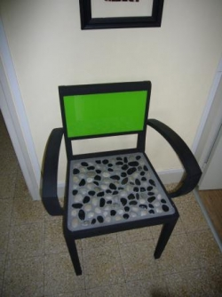 fauteuil galets