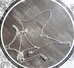 collier argent 925 filled