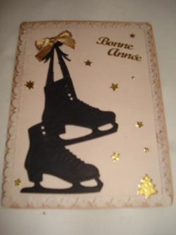 carte patins a glace
