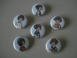 badges poupettes