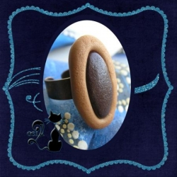 Bague Tartelette 3 chatons choco