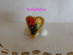 Bague tarte multifruits