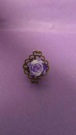 "Bague collection ""Les roses de Paris"""