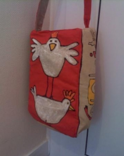 sac poule recto