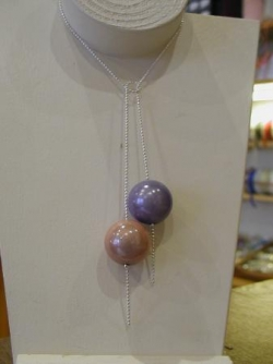 Collier duo perles miracles