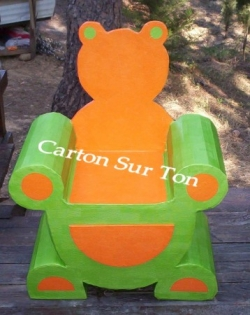 fauteuil ourson
