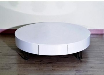 Ma table basse la deco de pepeg - Table basse ronde blanche pas cher ...