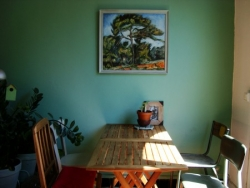 La table sous le pin de Cézanne