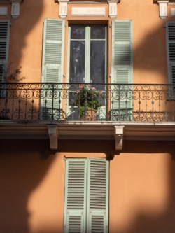 Photos de balcons à Nice.