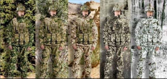 l 39 us army fait plancher cinq finalistes sur un nouveau camouflage lignes de d fense. Black Bedroom Furniture Sets. Home Design Ideas