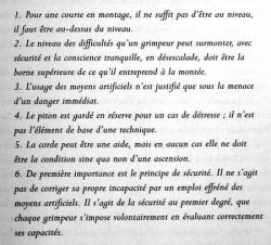 Dix commandements de Paul Preuss