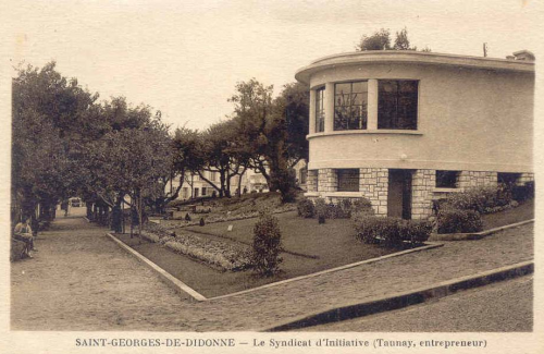 1938 construction de l 39 office du tourisme du trier - Office de tourisme st georges de didonne ...