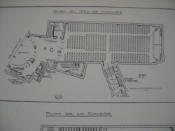 Danton Cinéma Palace - plan de la salle