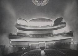 Cinéma Belgrand - vue de la salle