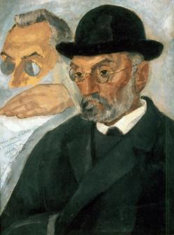 Retrato de Miguel de Unamuno