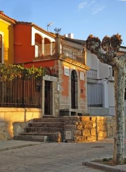 Vista de la Casa-Museo Gabriel y Galán